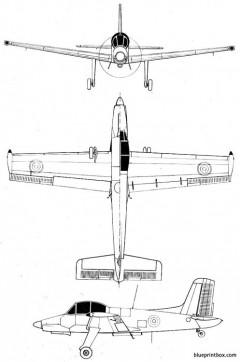 morane saulnierms 1500 epervier model airplane plan