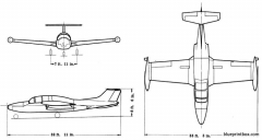 morane saulnierms 760 paris model airplane plan