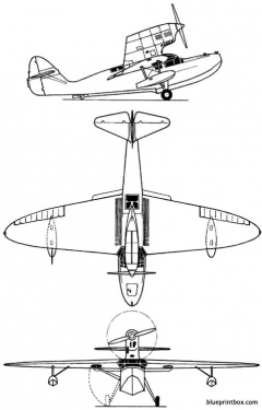 moskalev 116 model airplane plan