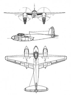 mosquito 3v model airplane plan