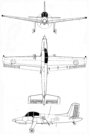 ms1500 3v model airplane plan