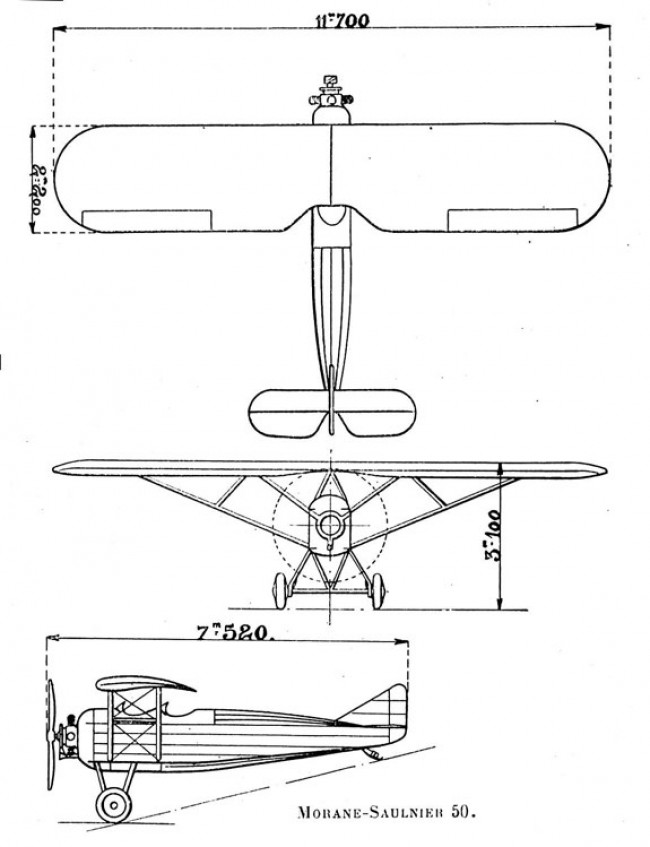 ms50 3v model airplane plan