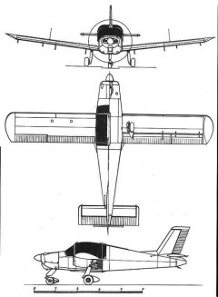 ms880 3v model airplane plan