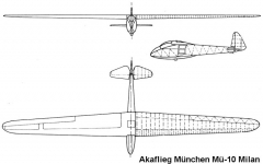 mu10 3v model airplane plan