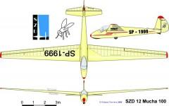 mucha100 3v model airplane plan