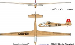 muchastd 3v model airplane plan