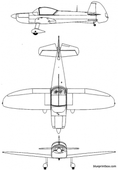 mudry cap 10 model airplane plan