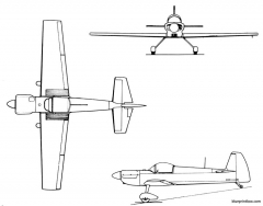 mudry cap 21l model airplane plan