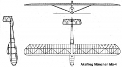 munchen mu4 3v model airplane plan