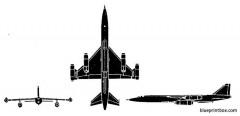 myasischev bounder model airplane plan