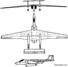 myasishchev m 17  m 55 geophysics 1988 russia model airplane plan