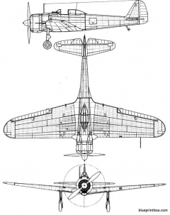 nakajima ki 43 hayabusa oscar model airplane plan