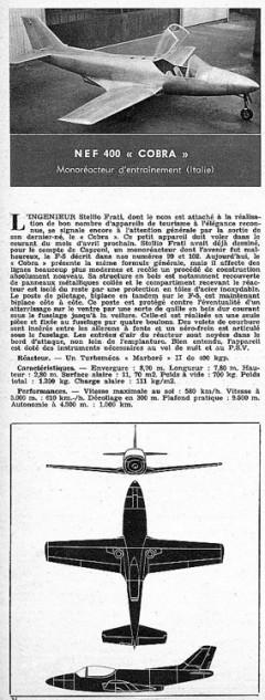 nef cobra model airplane plan
