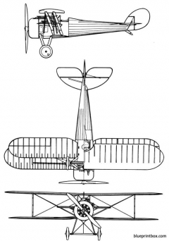 nieuport28c model airplane plan