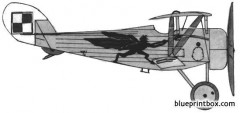 nieuport 24 model airplane plan