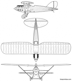 nieuport delage nid 72 model airplane plan