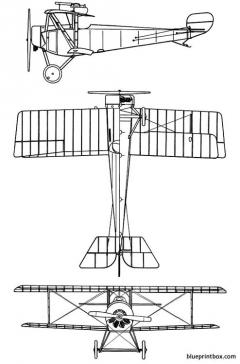 nieuport x 2 model airplane plan
