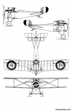 nieuport xvii model airplane plan