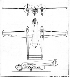 noratlas 3v model airplane plan