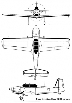 nord3200 3v model airplane plan