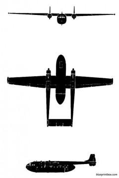nord 2501 noratlas model airplane plan