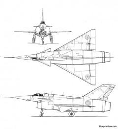 nord aviation nord 1500 griffon model airplane plan