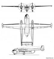 nord aviation nord 2502 noratlas model airplane plan