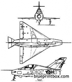 norde 1402 gerfaut model airplane plan