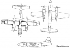 north american a 2 savage model airplane plan