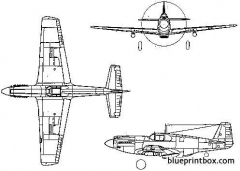 north american a 36a apache model airplane plan