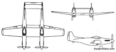 north american f 82 twin mustang model airplane plan