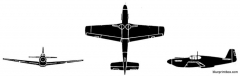 north american p 51 mustang model airplane plan