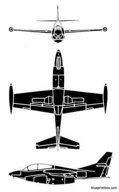 north american t2j 1 buckeye model airplane plan