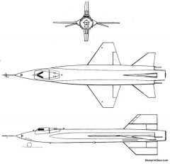 north american x 15 model airplane plan