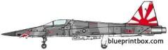 northrop f 5e tiger ii 7 model airplane plan