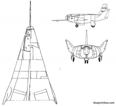northrop hl 10 model airplane plan