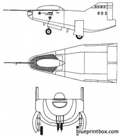 northrop m2f2 model airplane plan