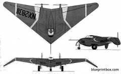 northrop n 1m jeep 2 model airplane plan