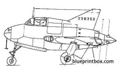 northrop xp 46 model airplane plan