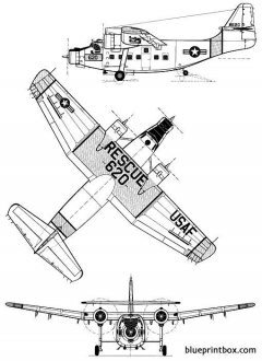 northrop yc 125 raider model airplane plan