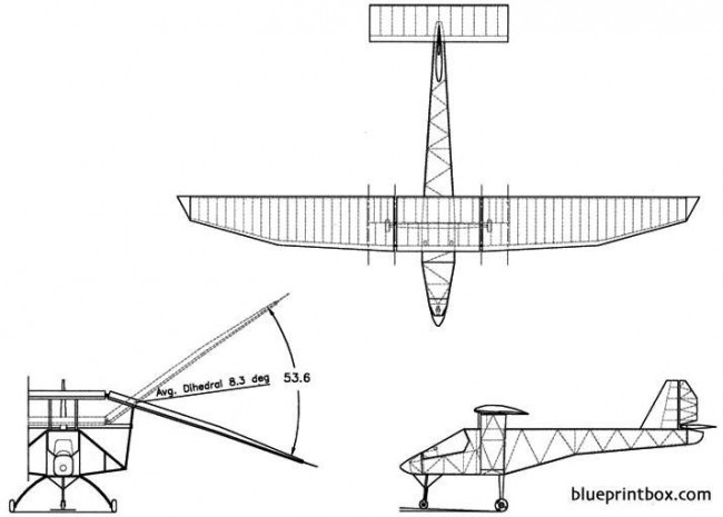 ornithopter c gptr model airplane plan