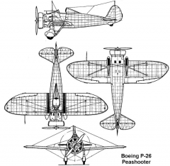 p26 3v model airplane plan