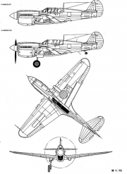 p40m 3v model airplane plan
