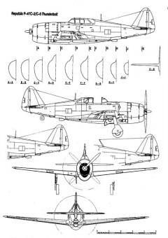 p47c 1 3v model airplane plan