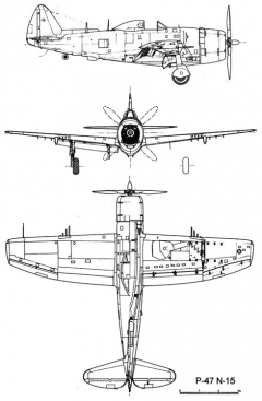 p47n 3v model airplane plan