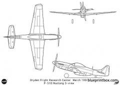 p 51mustang model airplane plan