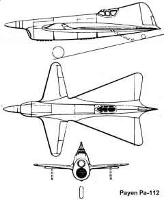 pa112 3v model airplane plan