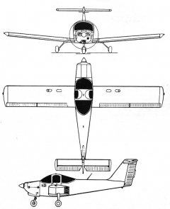 pa38 3v model airplane plan