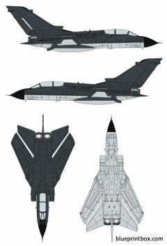 panavia tornado model airplane plan