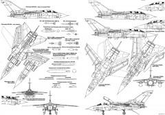 panavia tornado 3 model airplane plan